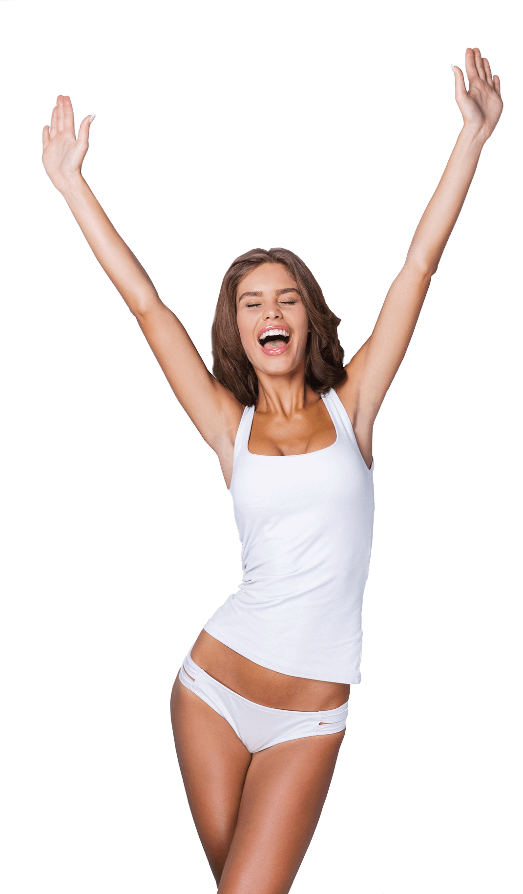 Laser Hair Removal Woman
